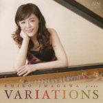 """ピアニスト今川映美子CD """"VARIATIONS"""""""