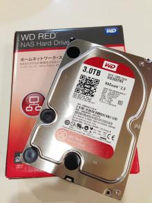 WesternDigital Red 3TB